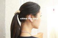 bay ladies fashion - New Elegant fashion lady bay leaf crystal charm ear bones