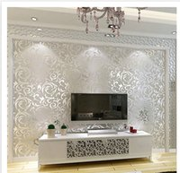Wholesale Wallpaper factory direct sales of simple European style home wall mounted wallpaper Non Woven