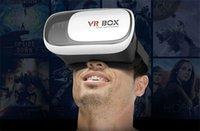 Wholesale BOX II D Glasses Helmet VR Glasses Virtual Reality Headmount Oculus Rift DK Gift box