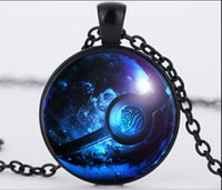 avatar glasses - beijia Round Pendant Necklace fashion Avatar the Last Airbender necklace Glass Cabochon Pendant statement necklace Jewelry