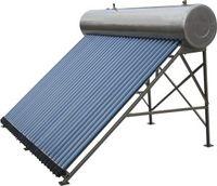 calentador de agua solar a presión de alta calidad, 20 evacuados tubo de la pipa de calor del calentador de agua colector solar, mejores calentadores domésticos de venta