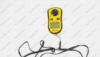 Wholesale Holding a mini digital anemometer Anemometer GM8908 wind speed wind temperature anemometer