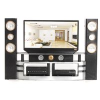 top quality beautiful hi fi 16 tv home theater cabinet set combo for blythe for barbie dolls house dollhouse furniture barbie dollhouse furniture cheap