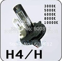Wholesale Automobiles Motorcycle HID Driving Light v w H4 K High beam Xenon Bulb low beam Halogen Lamp bulbs for JEEP vehicles