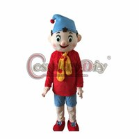 adult pinocchio costume - Pinocchio Mascot Costume Adult Halloween Cartoon Mascot Costume Custom Made D0227