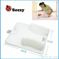 Wholesale 2016 NEW Baby Newborn Infant Anti Roll Pillow Sleep Positioner Prevent Flat Head Cushion Safety Cozy
