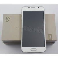 Wholesale Cheap S6 G9200 MTK6572 Dual core Android Smart Cell Phone quot GB Show MP GB G Fingerprint G Unlocked Mobile