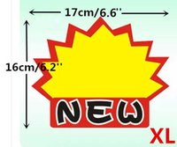 advertising labels - POP Advertising Promotion Poster Explosion Sign Paper Price Label Tag Onsale Card XL In Retail Store LGAXL