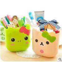 baskets - Cartoon animal multi purpose storage bucket storage basket storage basket plastic suction cup