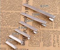 Wholesale 20pcs Metal Single Prong Alligator Aligator Clips Hair Bows Hair Tool