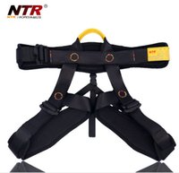 climbing harness - NTR polyester fibre Climbing body half Safety belt Harnesses Climbing equipment