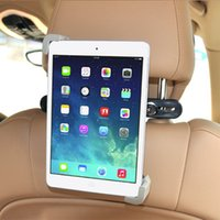 Wholesale New Car black Back Seat Headrest Mount Holder For inch for Samsung for iPad air mini Tablet HA10446