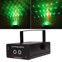 Wholesale Portable multi LED bulb FULL COLOR RGB Laser Stage Lights Lighting RED GREEN BLUE LED DJ Disco Light Party Club Projector