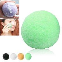 Wholesale Natural Konjac Facial Puff Face Wash Cleansing Sponge colors for choose hot selling MR0218