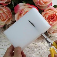 Wholesale 500pcs White Magic Sponge Eraser Melamine Cleaner multi functional Cleaning x60x20mm Retial