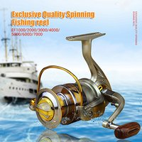 fishing boat - 1x Exclusive quality All Metal spinning fishing reel line winder speed ratio to Ocean Sea boat Rock Ice fishing tackle EF