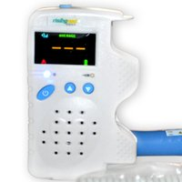Wholesale Hotsale Home Care Fetal Doppler MHz Color LCD Back Light Heart Beat Waveform