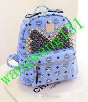 Cheap Hot Sale Designer MCM backpack Designer Handbags fashion casual printing backpacks top quality cheaper price free shipping bnakdjk998568