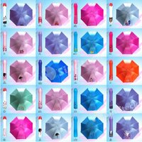 Wholesale 2015 New Novelty Design Rose Vase Umbrellas Personalized Clear Rain Umbrella Super Cute And Compact Folding Manually Umbrella Factory DHL