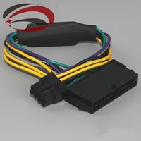 Wholesale ATX Pin Female to for DELL Optiplex T1700 Server Motherboard Pin Male Adapter Power Cable Cord cm AWG