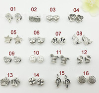 Wholesale Mix Style Big Hole Loose Beads charm For Pandora DIY Jewelry Bracelet For European Bracelet Necklace