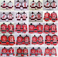 andy cotton - New Jersey Devils Stevens Andy Greene Mike Cammaller Adam Henrique Zajac Patrik Elias Cory Schneider Red Jersey