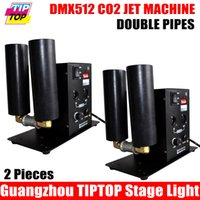 cooling fog nozzle - TIPTOP Stage Light XLOT Mini Size Co2 Cryo Jet with Double Side Jet Nozzle DMX512 Hand Control Channels Co2 Fog Cooling System AC90V V