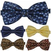 Wholesale Fashion Novelty Mens Unique Tuxedo Bowtie Wedding Bow Tie Necktie Styles Pick PO