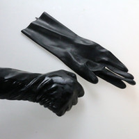 Wholesale Sexual Fisting Latex Gloves Adult Sex Toys BDSM Bondage Gear Flirting