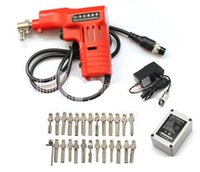 Wholesale New Dimple lock Electronic Bump Pick gun with pins for Kaba Lock Locksmith tools key cutter Lock