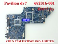 Wholesale Original laptop motherboard for HP Pavilion DV7 DV7 HM77 G Notebook PC systemboard Tested Days Warranty