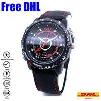 Wholesale Waterproof Mini Watch Spy DVR G G P Digital Watch Spy Camera M Pixels Watch Spy Camcorder DV Record Audio HS