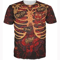 anatomy shirt - Day of the Dead Anatomy T Shirt harajuku vintage skeleton d t shirt women men fashion crewneck tees summer casual tshirts tops