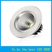 Wholesale COB Downlight Recessed Ceiling Light Dimmable High Brightness Core Chip W W W W AC110V V AC85 V