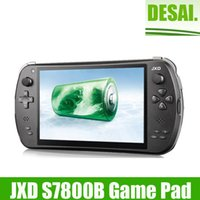 Wholesale In Stock New Quad Core Game Console JXD S7800B S7800 Gb RAm Android X800 IPS Dual L R Buttons Game Dual Camera