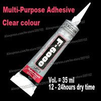 Wholesale 35ml Adhesive Glue F6000 pc stone clear gel multi purpose for jewelry crystals rhinestones nail art DIY tools accessories