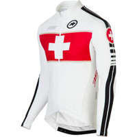 Wholesale Hot sale Assos Switzerland Long Sleeve Jersey Breathable And Quick Dry Men s Bike Racing Jacket