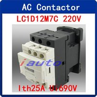 ac electrical motor - Electrical Motor Control Poles NC NO AC Contactor V A