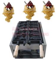 Wholesale most country new design high quality Ice Cream Taiyaki machine open taiyaki maker