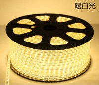 Wholesale Newest SMD Flexible Strip Light M leds m Waterproof single color V