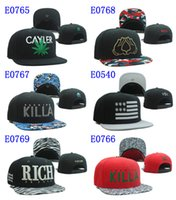 Wholesale High Quality Cayler Sons Snapbacks Hat Snap back Baseball Caps Sports Hats Snapback Size Adjustable Snap backs Hat Ball Caps Mix Order