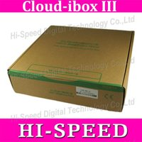 Wholesale 5pcs Original cloud ibox cloud ibox3 MHz twin tuner DVB S2 Hybrid DVB T2 C enigma2 HBBTV smart linux IPTV box Hot Sale in Italy