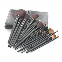 Wholesale 32pcs Professional Makeup Brushes Make Up Cosmetic Brush Set Kit Tool Roll Up Case