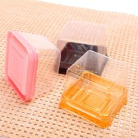 bakery container - Bread Bakery Packing BCake Dessert Pastry Square Container Disposable Plastic Blister Box