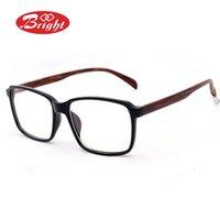 al por mayor lentes al por mayor en línea-Envío Los hombres y las mujeres vidrios de la radiación antifatiga mayor-Libre gafas de decoración de cristal liso vendimia Y101 montura de gafas en línea