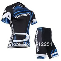 Wholesale summer ORBEA Team cycling jersey cycling clothing cycling wear short bib suit ORBEA D cycling jersey set cycle jerseys