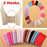 Wholesale On sale New Hooks Women s Bra Strap Long Extender Hook Clip Nude Adjustable Belt