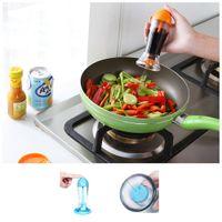 Wholesale New Spray Pump Mist Oil Sprayer Vinegar Spraying Bottle Kitchen Accessories Cooking BBQ Tool Storage Bottles