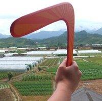 boomerang - High intensity aviation wood Boomerang V dart Outdoor sports equipment