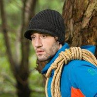 Prezzi Wool hat-cappello Mens inverno Set di sci di moda Cappello testa sport all'aria aperta berretto beanie dell'uomo tenere in caldo cappello Uomo sportivo fuori cappelli LANA